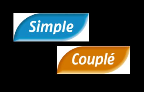 Simple et couplé: les valeurs sûres